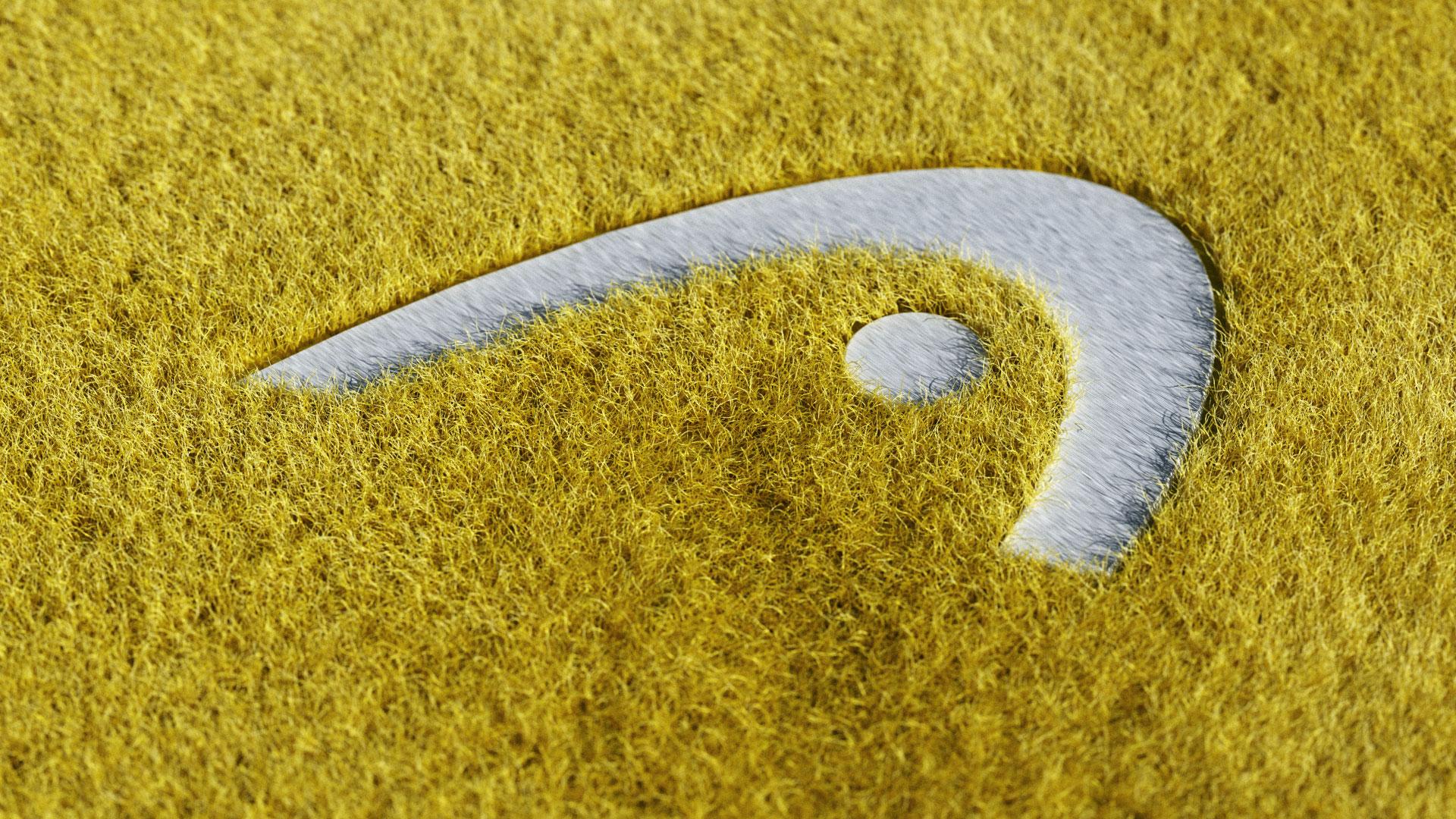 Tennis, Filz, Logo, Head