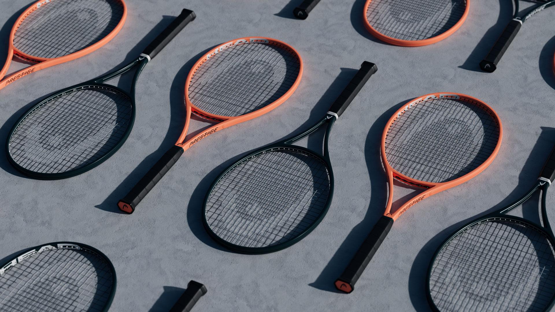 Tennis, Schatten, Schläger, Beton, Head